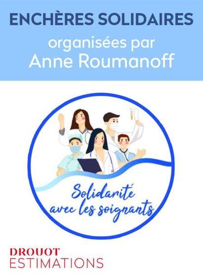 Enchères Solidaires - Organisées par Anne Roumanoff