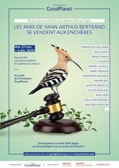 [Facebook live sur le compte de la Fondation GoodPlanet - dimanche 6 - 16h à 20h avec Yann Arthus - Bertrand] - Enchères Solidaires - GoodPlanet