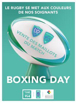 Maillots et Ballons Collectors Boxing Day Rugby TOP 14 -        La LNR soutient la Fondation des Hôpitaux