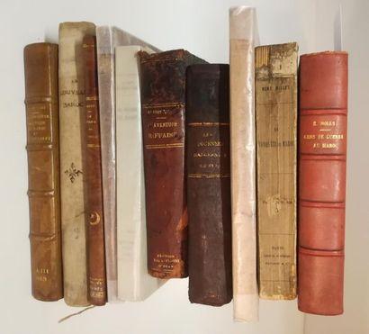 mobilier, objets d'art dont bibliothèque d'un ancien officier colonial - Afrique du Nord et Afrique noire - Voyages - Guerres coloniales - Ethnologie - Manuscrits