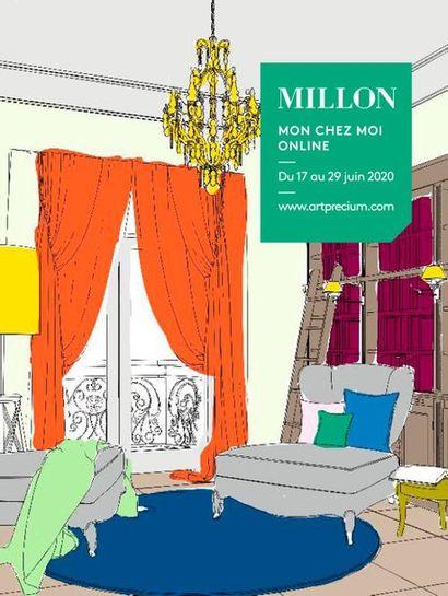 Mon Chez Moi<br>Intérieurs parisiens<br><br>[vente online du 17 au 29 juin 2020]