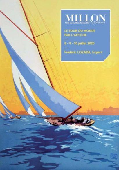 Le Tour du Monde par l'Affiche<br>10eme édition<br>Partie II<br><br>[vente à huis-clos live]
