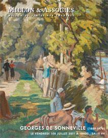 ATELIERS D'ARTISTES<br />GEORGES DE SONNEVILLE (1889-1978)