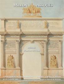 DESSINS ANCIENS<br />DESSINS D'ARCHITECTURE