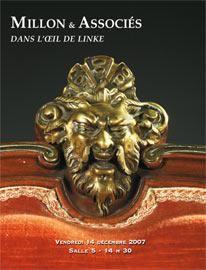 TABLEAUX ANCIENS - MOBILIER ET OBJETS D'ART<br />DANS L'OEIL DE LINKE