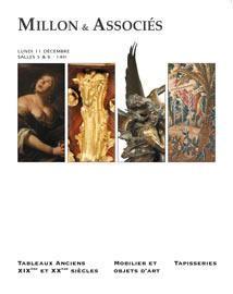 TABLEAUX ANCIENS - MOBILIER ET OBJETS D'ART