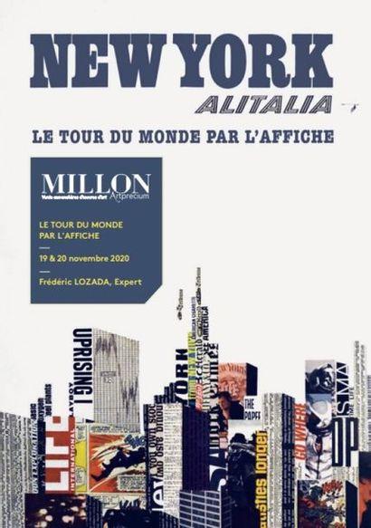 [VENTE MAINTENUE]  Le Tour du Monde par l'Affiche 11eme édition