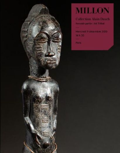Collection Alain DUSCH<br>Deuxième partie : Arts d'Afrique, d'Océanie et d'Amérique