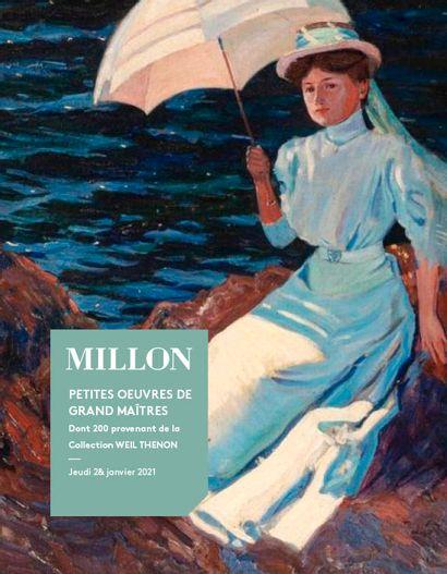Petites Oeuvres de grands maîtres<br>Tableaux Modernes <br>dont 200 lots provenant de la Collection Weil Thenon<br><br>[VENTE À HUIS-CLOS LIVE]