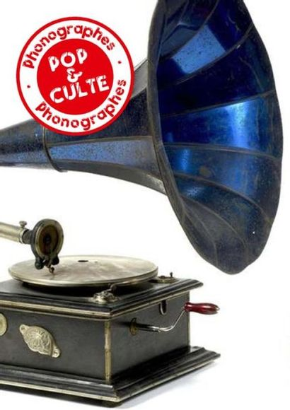 POP & CULTES<br>Gramophones & Phonographes<br>Part III<br><br>