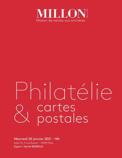PHILATELIE & CARTES POSTALES