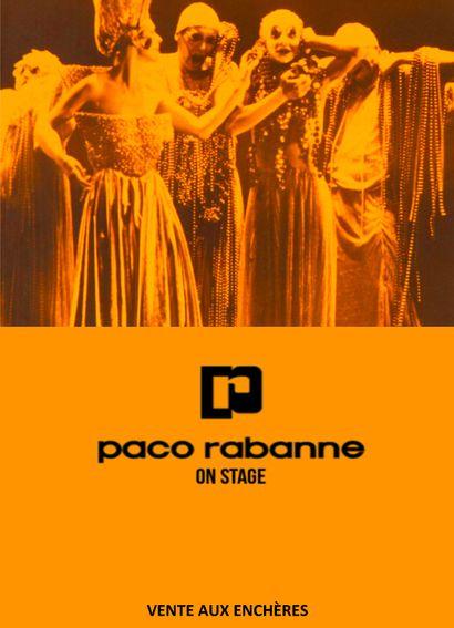 PACO RABANNE ON STAGE <br> <br> [vente décalée à huis-clos live]