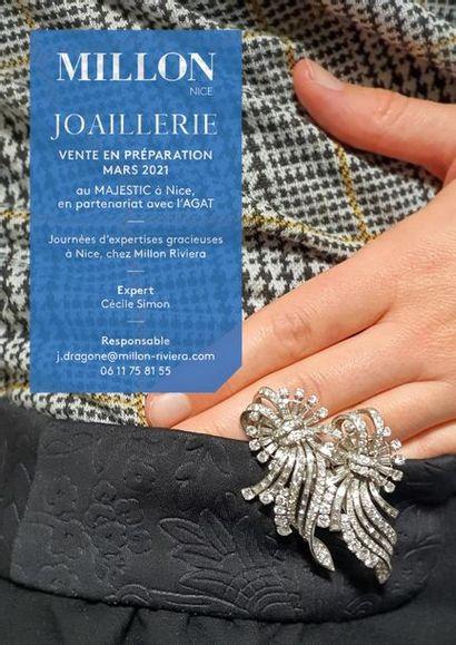 JOAILLERIE<br>[millon riviera, nice]<br><br>[vente en préparation, mise en ligne le 9 mars 2021]