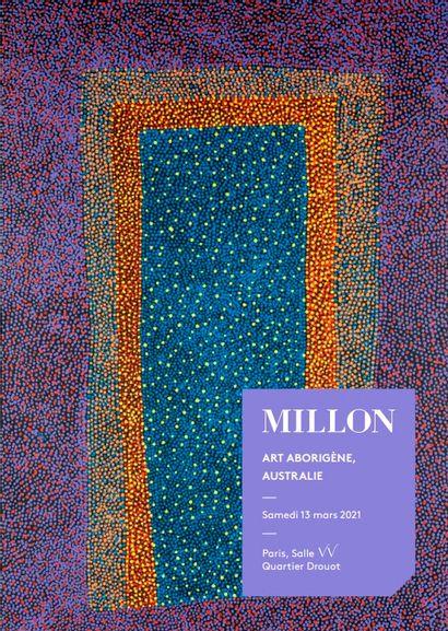 art aborigène, australie<br0><br>[vente a huis-clos live, samedi 13 mars, a partir de 14h30]