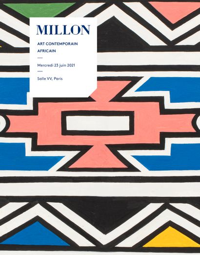 art contemporain africain<br><br>[Paris, Salle VV]<br><br>[vente en préparation, contactez-nous]
