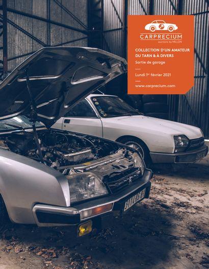 AUTOMOBILES DE COLLECTION <br>COLLECTION D'UN AMATEUR DU TARN & À DIVERS<br>Sortie de garage