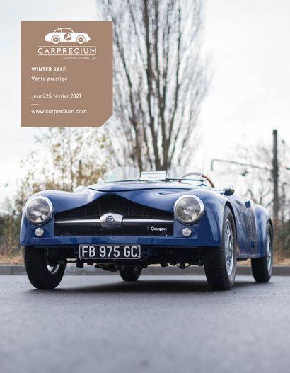 AUTOMOBILES DE COLLECTION <br>WINTER SALE<br>Vente prestige<br><br>[vente en préparation, catalogue ouvert]