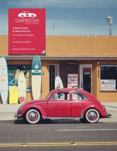 AUTOMOBILES DE COLLECTION<br>COQUILLAGES & CRUSTACÉS #2<br>Les voitures de plage<br><br>[vente en préparation, contactez-nous]]
