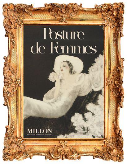 POSTURES DE FEMMES & Petites œuvres de grands maîtres  TABLEAUX ET SCULPTURES MODERNES [paris, Les Salons du Trocadéro]