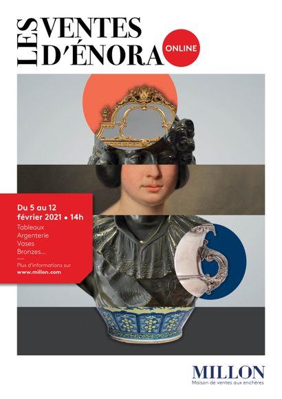 les ventes d'enora online<br><br>[vente online du 5 au 12 février 2021 sur www.artprecium.com]