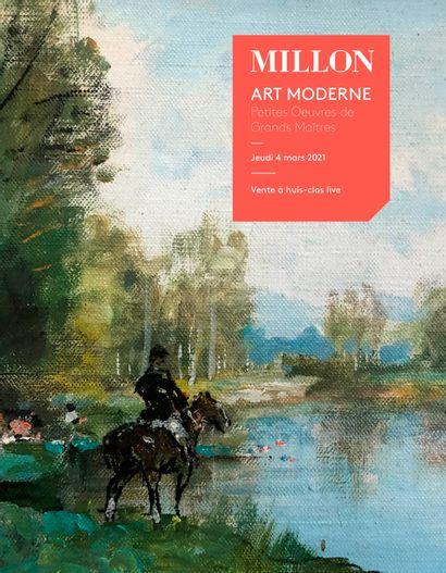 Petites Oeuvres de grands maîtres<br>Tableaux Modernes <br>dont des oeuvres provenant de la Collection Weil Thenon<br><br>[VENTE À HUIS-CLOS LIVE]