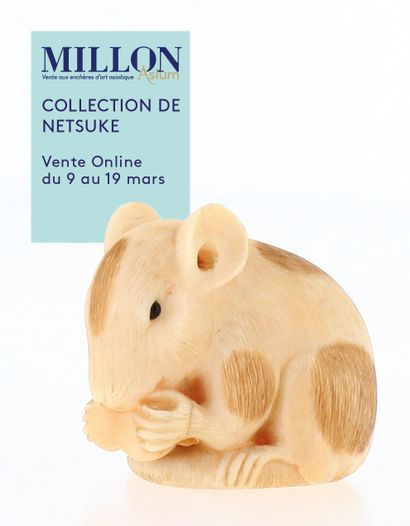 COLLECTION DE NETSUKE<br><br>[VENTE online du 1 au 10 avril 2021]