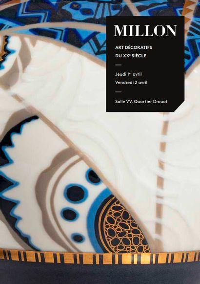 Les arts décoratifs du xxème<br>partie 1, lots 1 à 236<br><br>[vente à huis-clos live]