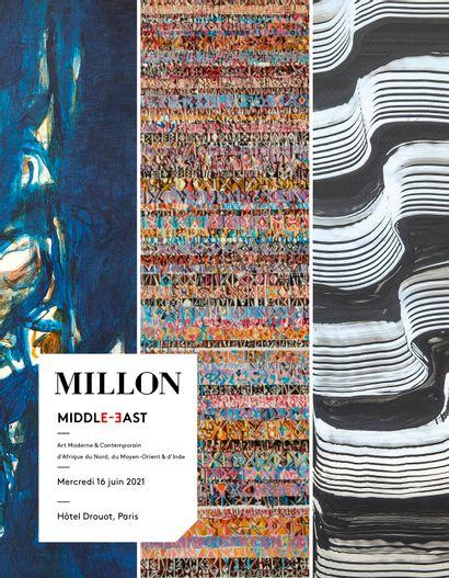 middle east<br>art moderne & contemporain<br>d'Afrique du nord, du moyen orient & d'inde<br><br>[vente en préparation, catalogue ouvert]