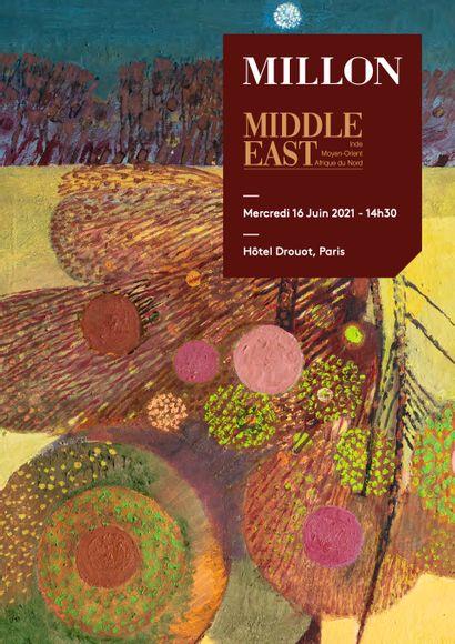 middle east art moderne & contemporain 'Afrique du nord, du moyen orient & d'inde <br><br> [hôtel drouot, Paris]