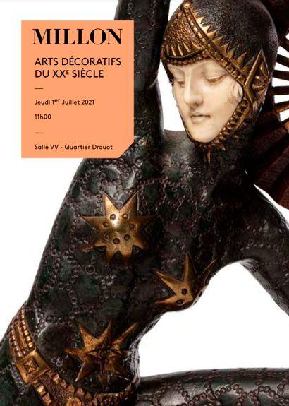 Les arts décoratifs du xxème<br>11h: lots 1 à 131<br>14h: lots 132 à 382<br><br>[Paris, Salle VV]