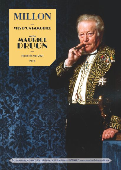 Maurice Druon<br>vies d'un immortel