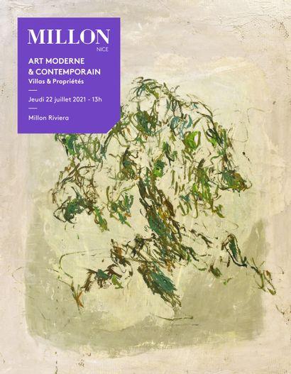ART MODERNE & ART CONTEMPORAIN - dont collection d'une villa du Domaine de Terre Blanche...