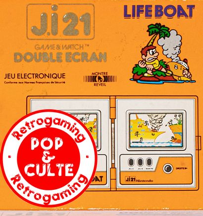 POP & CULTES : GAME & WATCH - Vente d'une collection