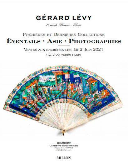 GALERIE LEVY<br>Eventails-Arts & d'Asie<br><br>premières et dernières collections<br><br>[paris, salle VV]