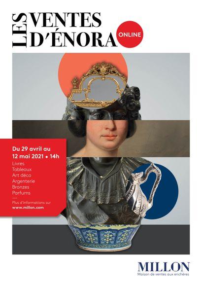 LES VENTES D'ENORA ONLINE 2eme édition<br><br>[VENTE ONLINE sur www.artprecium.com]