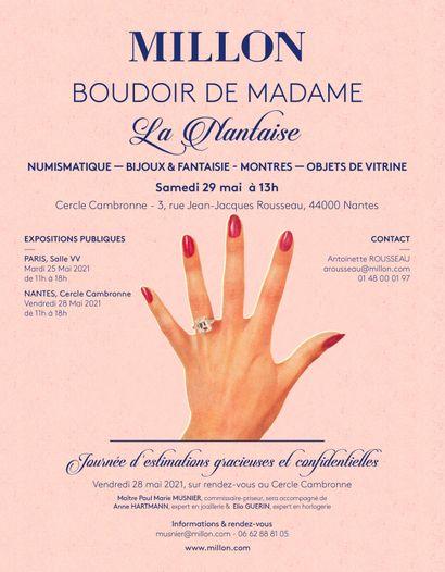 BOUDOIR DE MADAME - La Nantaise<br><br>[NANTES, Cercle Cambronne]