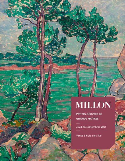 Petites Oeuvres de grands maîtres<br>Tableaux Modernes<br>Les Salons du Trocadéro, Paris <br><br>[VENTE À HUIS-CLOS LIVE]