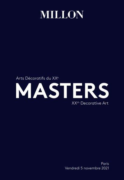 Masters<br>arts décoratifs du xxème<br><br>[Salle VV, quartier Drouot, Paris]