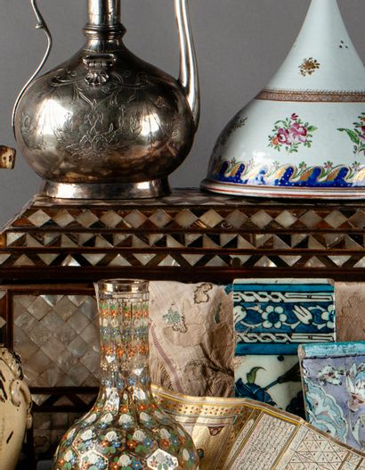 Arts d'Orient<br>les salons du trocadéro<br><br>[catalogue ouvert, vente en préparation]