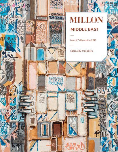 middle east<br>art moderne & contemporain<br>d'Afrique du nord, du moyen orient & d'inde<br>Salons du trcadéro, Paris<br><br>[vente en préparation, catalogue ouvert]