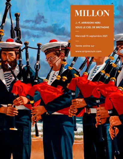 J.-F. Arrigoni Neri sous le ciel de Bretagne<br><br>[vente online le 15 septembre 2021 sur www.artprecium.com]