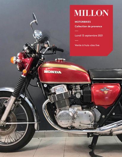 MOTORBIKE #2<br>collection de Provence<br><br>vente à huis-clos live