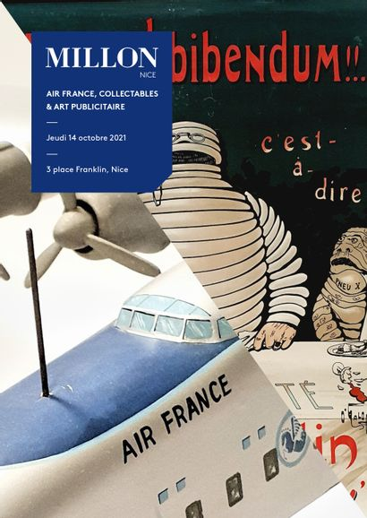 AIR FRANCE & COLLECTABLES / ART PUBLICITAIRE