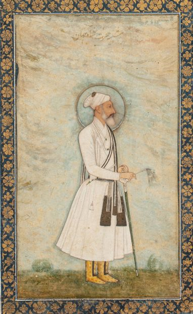 Arabic and Persian books, manuscripts and documents including Mughal miniatures, postcards and orientalist photographs