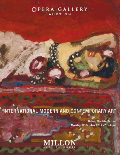 1ERE VENTE A DUBAI         International Modern and Contemporary Art Auction<br/>Duplex Paris-Dubaï 5 avenue d'Eylau