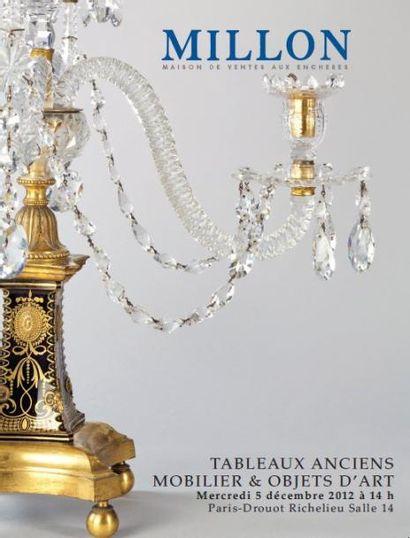 TABLEAUX ANCIENS, MOBILIER ET OBJETS D'ART