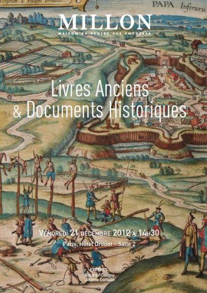 LIVRES ANCIENS ET MANUSCRITS