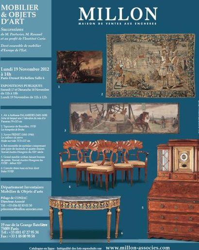 TABLEAUX ANCIENS MOBILIER OBJETS D'ART ET CERAMIQUE