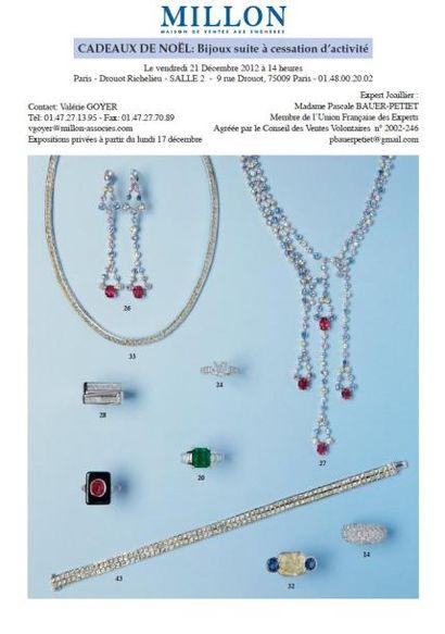 Bijoux suite à cessation d'activité
