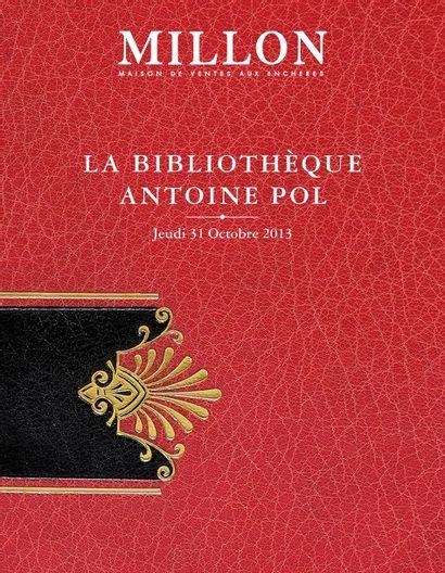 BIBLIOTHÈQUE ANTOINE POL